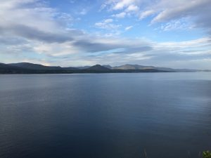 Looking back at the Beara peninsula