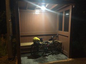 Plush overnight accommodation was a bit noisy